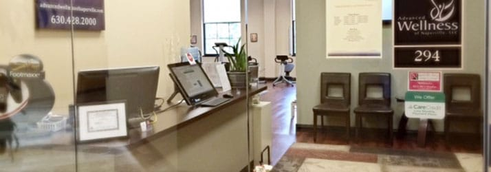 Chiropractic Naperville IL Front Desk